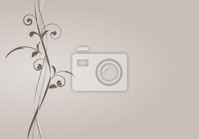 Bild Vektor-Set - florale Musterung - Anlage Vektor Kurven