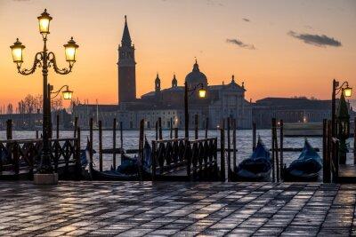 Bild Venezia, Alba und Chiesa di S. Giorgio