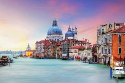 Bild Venice - Grand Canal and Basilica Santa Maria della Salute