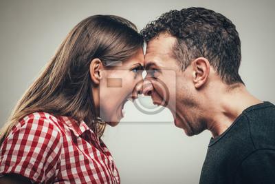 Bild Verärgerte Paare
