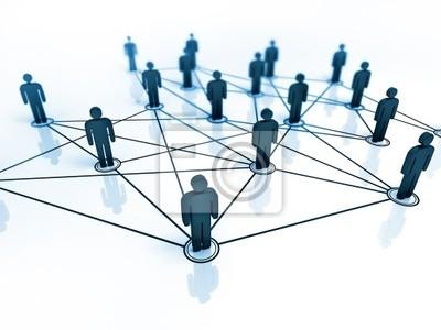 Verbunden Menschen