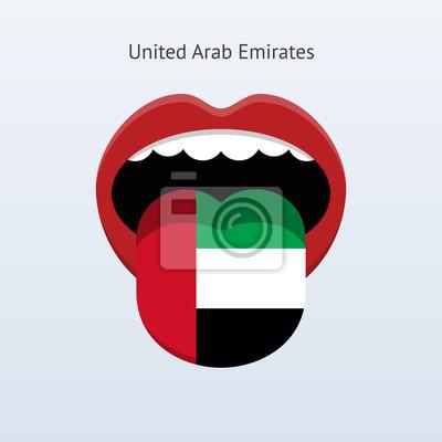 Vereinigte Arabische Emirate Sprache.