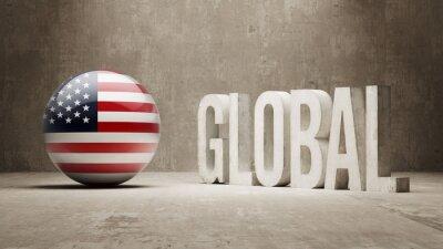 Vereinigte Staaten. Globales Konzept.