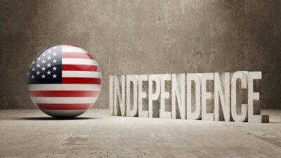 Vereinigte Staaten. Unabhängigkeitskonzept.