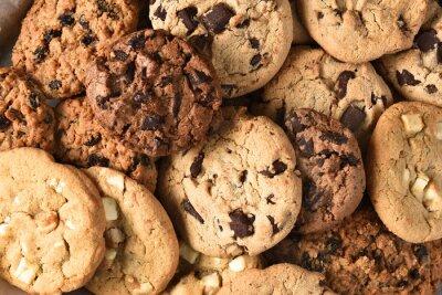 Bild Verschiedene Cookie Closeup