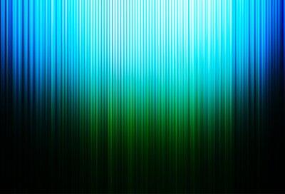 Bild Vertical green and blue motion blur lines background