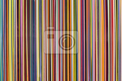 Bild Vertikale Streifen in verschiedenen Farben dünne Breite