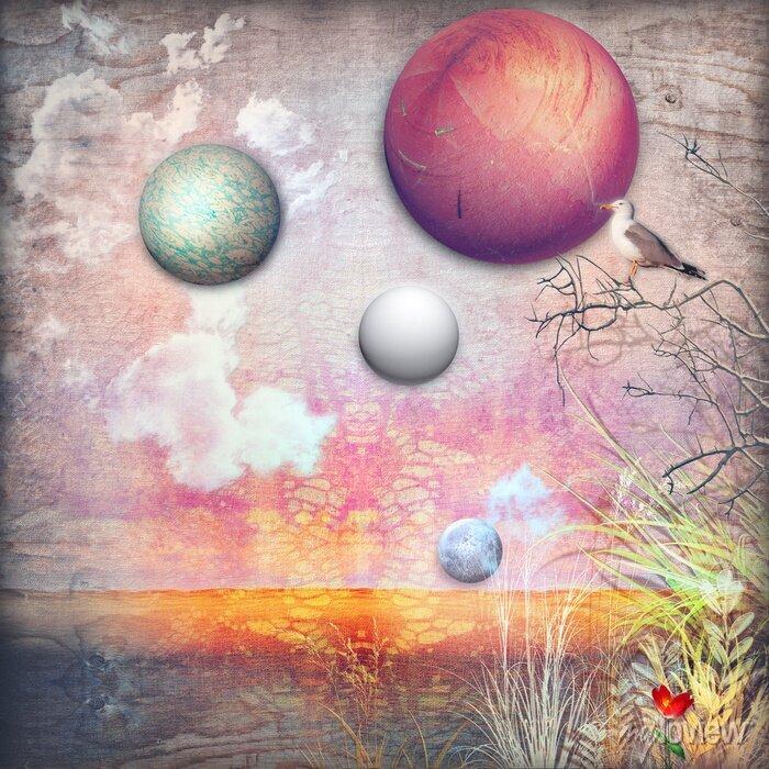 Bild Verzauberte Landschaft Serie