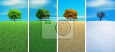 Bild Vier Jahreszeiten