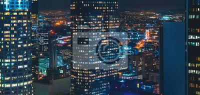 Bild View of Downtown Los Angeles, CA buildings