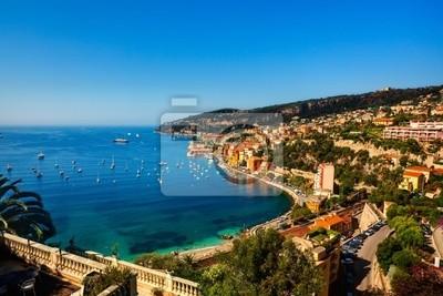 Villefranche sur Mer auf der Französisch Riviera Frankreich Côte d'Azur