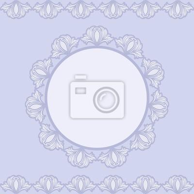 Bild vintage background with vintage border