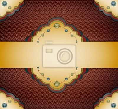 Vintage braun Hintergrund. Abbildung 10 Version