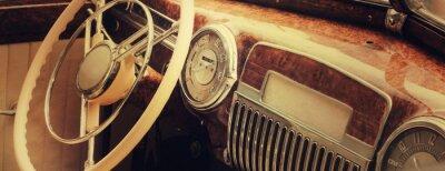 Bild Vintage car dashboard  (fragment)