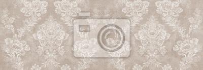 Bild vintage damask seamless pattern background