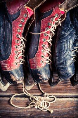 Bild Vintage hockey skates