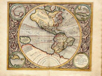 Bild Vintage  map