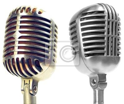 Bild Vintage-Mikrofone