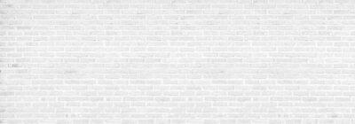 Bild vintage white brick wall texture background