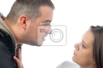 Violent Mann missbrauchen Frauen
