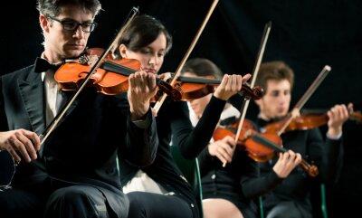 Bild Violin orchestra performing