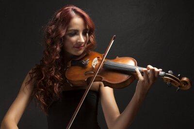 Bild Violinst Woman