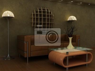 Deco lounge tv: idea deko lounge atmosphäre zen für ein sauberes