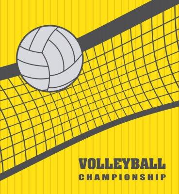 Bild volleyball ball