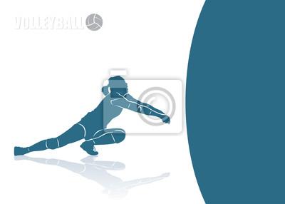 Volleyball Bump Hintergrund