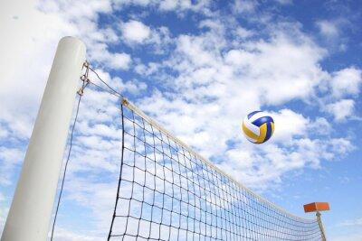 Bild Volleyballnetz