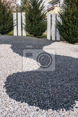 Vorgartengestaltung Leinwandbilder Bilder Myloview De