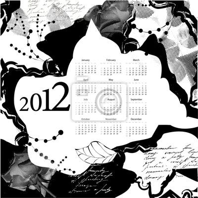 Vorlage für Kalender 2012
