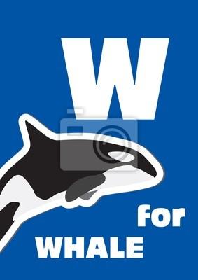 W für den Wal, ein Tier-Alphabet für Kinder