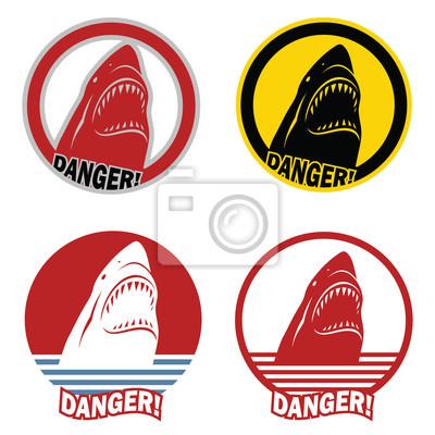 Warnzeichen von Hai-Angriff