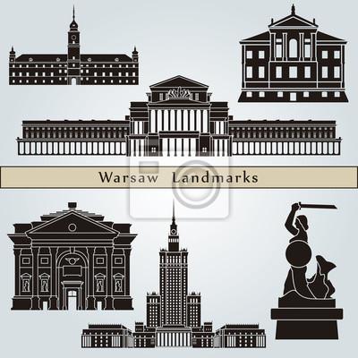 Bild Warschau Sehenswürdigkeiten und Denkmälern