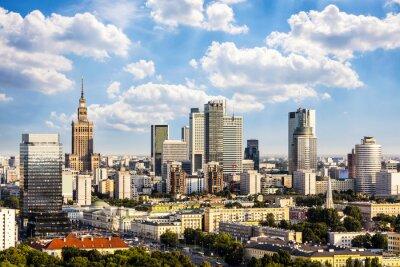 Bild Warschauer Geschäftsviertel