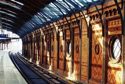 Bild Warten auf den Zug