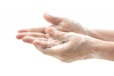Bild Washing hands with soap