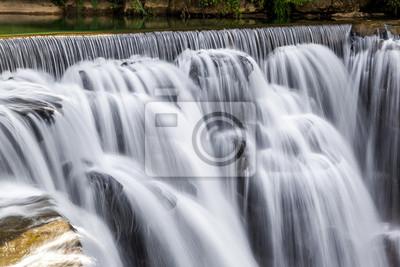 Wasserfall bei Shifen, Taiwan