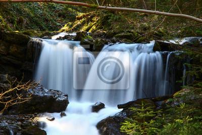 Bild Wasserfälle im Wald