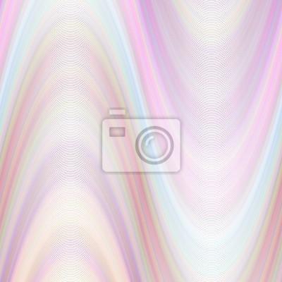 Wave Hintergrund von dünnen bunten wellig Linien - Vektor-Grafik