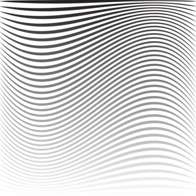 Wavy lines striped texture and background.