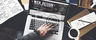 Bild Web Desegn Ideen Kreativität Internet Online Multimedia Konzept