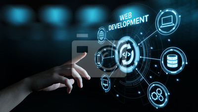 Bild Web Development Coding Programming Internet Technology Business concept