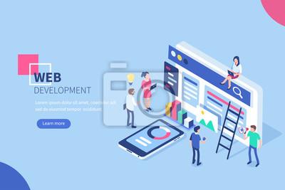 Bild Web Entwicklung