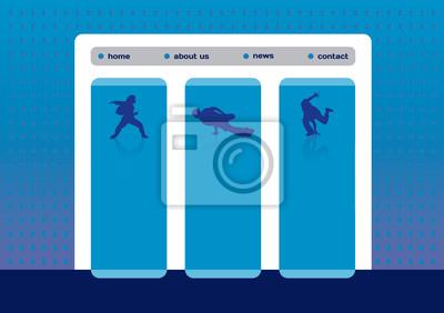 Website Vorlage mit Breakdance