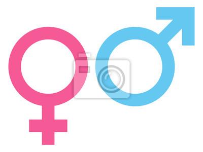 Bild Weiblich & Männlich Icon