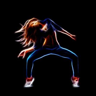 Bild Weibliche Hip-Hop-Tänzer