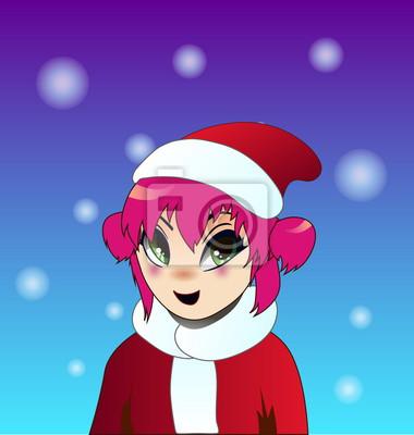 Anime Weihnachten Bilder.Bild Weihnachten Anime Mädchen