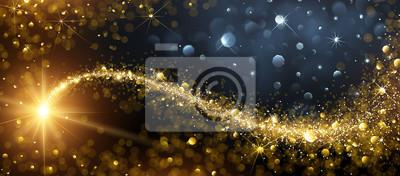 Bild Weihnachten Hintergrund mit Gold Star
